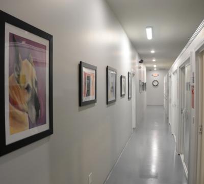 Premium Suite hallway